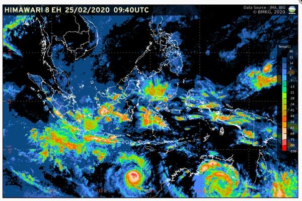 Badai Ferdinand Ancam Jateng, Waspada Hujan Lebat Disertai Kilat