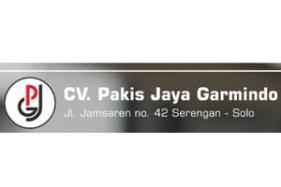 Lowongan SPV Accounting Di CV Pakis Jaya Garmindo