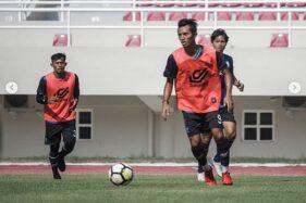 Persis Solo menjalani latihan di Stadion Manahan. (Instagram/@official.persissolo)