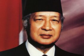 Presiden Soeharto. (Wikipedia)