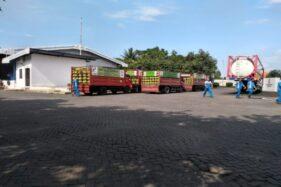 Karyawan beraktivitas di SPPBE PT Mandiri Artha Kencana, Banyudono, Boyolali, Senin (24/2/2020). (Solopos/Bayu Jatmiko Adi)