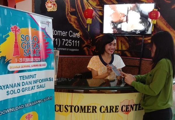 Customer care center Solo Grand Mall (Istimewa)