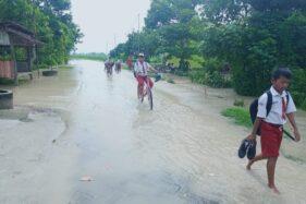 Sungai Moneng Meluap, Lima Desa Di Madiun Kebanjiran