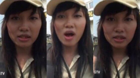 Cleo Vitri, peserta Be A Man sesi 3. (Istimewa/Youtube)