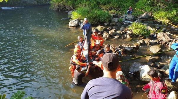 Semua Korban Ketemu, Pencarian Korban Susur Sungai Sempor Sleman Dihentikan