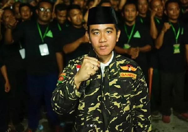 Gibran Rakabuming Jadi Anggota Banser, Netizen Kaitkan Pilkada Solo
