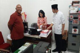 Kunjungi Kantor DPC PDIP Solo, Ini Kata Gibran Soal Rekomendasi Cawali Dari DPP