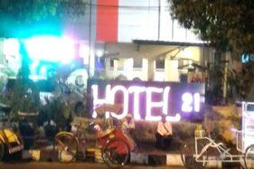 Hotel 21 Pati diduga memperkerjakan anak di bawah umur sebagai pemandu karaoke. (Murianews-Istimewa)