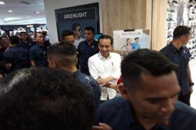 Presiden Jokowi di Hartono Mall, Sukoharjo, Minggu (16/2/2020). (Solopos/Indah Septiyaning Wardani)