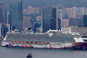 Kapal pesiar World Dream. (Liputan6.com)