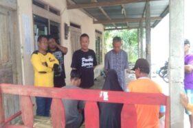 Tokoh masyarakat RW 007, Dukuh Krajan, Desa Jomboran, Klaten Tengah, mempertemukan pencuri pakaian dalam wanita dengan keluarganya, Minggu (23/2/2020) pagi. (Istimewa)
