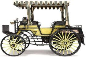 Benz Victoria Phaeton, mobil pertama di Indonesia milik Raja Solo, Sultan Pakubuwono X, yang disimpan di Museum Louwman, Belanda. (Detik.com/Louwman Museum)