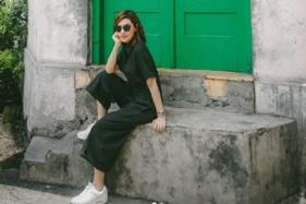 Najwa Shihab di Kampung Batik Laweyan, Solo (Instagram/@najwashihab).