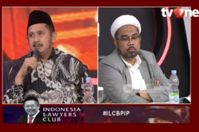Zaitun Rasmin dan Ngabalin (Youtube/Indonesia Lawyers Club).