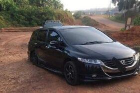 Dipakai Angkut 3 Ekor Sapi Curian, Honda Odyssey Ambles