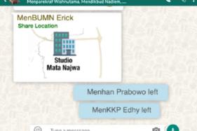Prabowo Disindir Parodi Whatsapp Group Kabinet Mata Najwa, Jubir Baper
