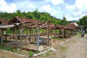 Warga Pindah, Pasar Pahingan Peninggalan Belanda di Wonogiri Mati
