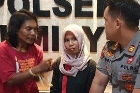 Pasutri Sarkum dan Puroh yang kurung dan paksa gadis ABG threesome di Brebes, Jateng. (Detik.com)