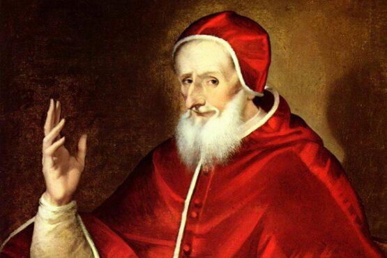 Lukisan yang menggambarkan Paus Pius V. (Wikipedia.org)