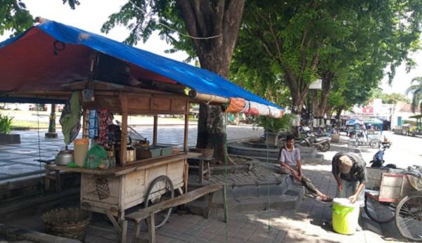 Diprotes Pedagang, Aturan Pembatasan Jam Operasi Usaha PPKM Klaten Tetap Lanjut