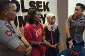 Sarkum, 51, dan Siti Saefuroh, 29, penyekap gadis di Brebes untuk diajak threesome. (Detik.com)