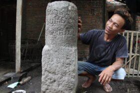 Prasasti Berusia 1.173 Tahun di Rumah Warga Klaten Punya Keistimewaan, Apa Itu?