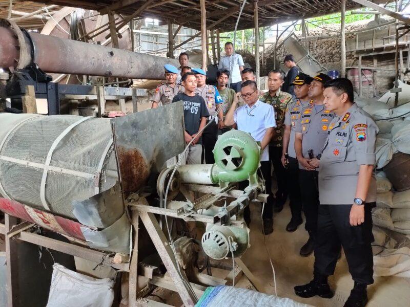Terbongkar, Produksi Pabrik Pupuk Palsu di Wonogiri Capai Ratusan Ton