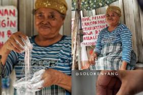 Rambut Nenek, Jajanan Legendaris yang Nyaris Punah di Solo