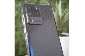 Bocoran bentuk Samsung Galaxy S20. (Gsmarena.com)