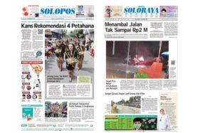 Harian umum Solopos edisi Selasa (18/2/2020).
