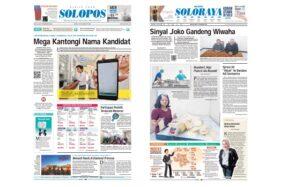 Harian Umum Solopos edisi Rabu (19/2/2020).