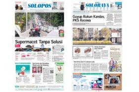 Harian Umum Solopos edisi Jumat (21/2/2020).