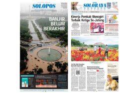Harian Umum Solopos edisi Rabu (26/2/2020).
