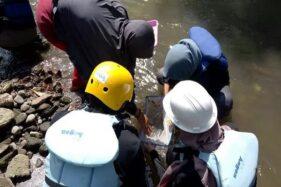 Kegiatan susur sungai. (Liputan6.com)