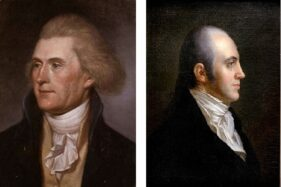 Thomas Jefferson (kiri) dan Aaron Burr (kanan). (Wikimedia.org)