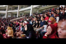 Tak Ada Asap Rokok dan Desak-Desakan di Tribun Stadion Manahan Solo