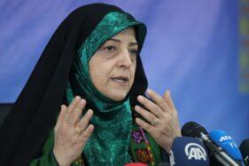 Wakil Presiden Iran, Masoumeh Ebtekar. (Aljazeera)
