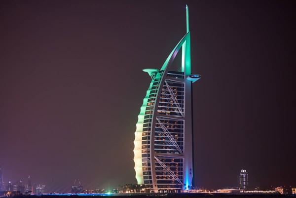 Burj Al Arab jadi pesona Dubai