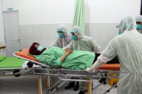 Simulasi Penanganan Pasien Corona Ungkap Kekurangan Di Ruang Isolasi RSUD Sragen