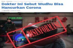 Hoaks Berderet Iringi Covid-19 di Jawa Tengah