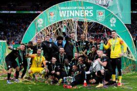 Selamat! Manchester City Juara Piala Liga Inggris