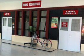 Foto dokumentasi Ruang Isolasi Covid-19 di Blok Bougenville, Rumah Sakit Umum Daerah Prof. dr. Margono Soekarjo (RSMS) Purwokerto, Kabupaten Banyumas, Jawa Tengah. (Antara-Sumarwoto)