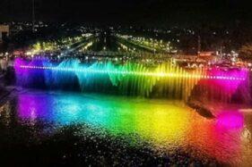 Bridge Fountain Bikin Pesona Semarang Tak Kalah dari Korea Selatan
