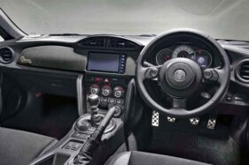 Interior Toyota 86 Black Limited. (Istimewa)