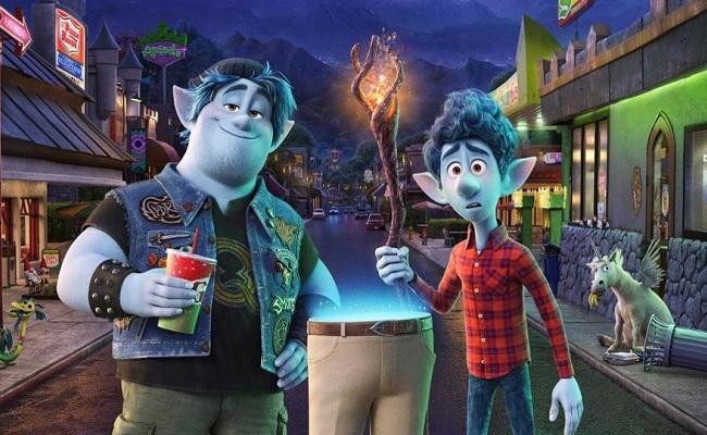 Film animasi Onward berhasil merajai box office. (Istimewa)