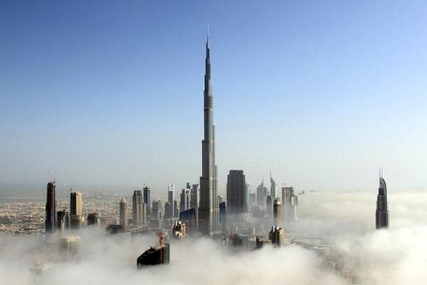 Burj Khalifa jadi pesona utama di Dubai