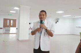 Ketua Tim Penanganan Covid-19 RSUD dr. Soedono Madiun, Bambang Subarno. (Abdul Jalil/Madiunpos.com)