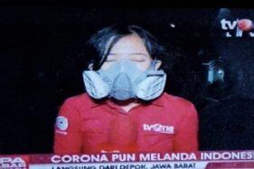 Geramnya Dokter Tirta Lihat Reporter TV Pakai Respirator Saat Live