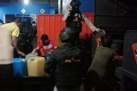 Gerebek Rumah di Mojolaban & Polokarto, Polres Sukoharjo Amankan 1.600 Liter Ciu