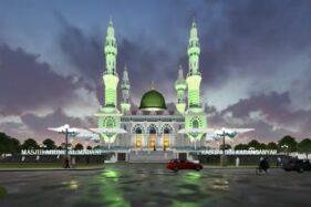 Desain Masjid Agung Karanganyar Mirip Taj Mahal, Benarkah?